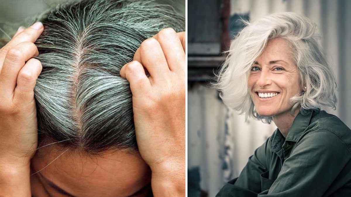 Cheveux blancs: cette astuce ingénieuse pour les faire disparaître facilement et naturellement, selon les scientifiques