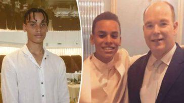 Albertde Monaco son fils Alexandre sort de l'ombre 16 ans après...