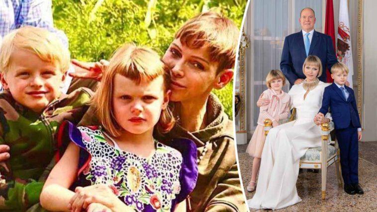 Charlène de Monaco sa fille Gabriella blessée et se retrouve en fauteuil roulant