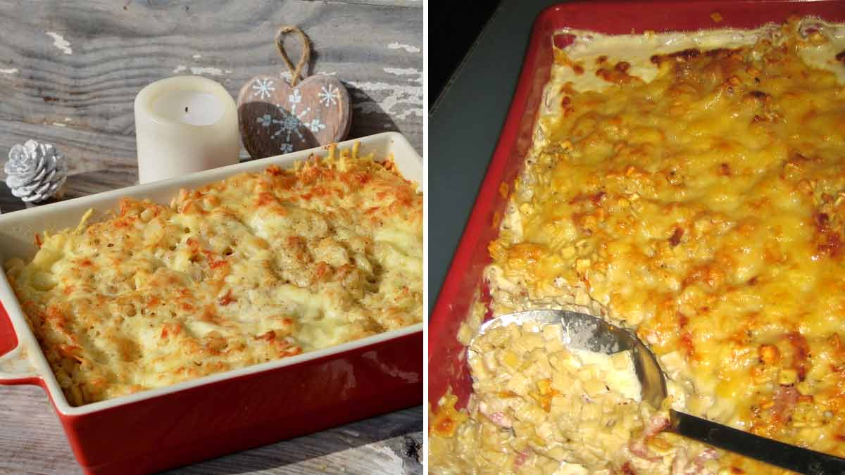 Découvrez la recette d'un succulent gratin Savoyard de crozets au beaufort facile et rapide à petit budget!