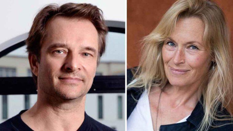 Estelle Lefébure et David Hallyday de nouveau en couple Une relation très troublante