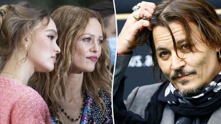 Lily-Rose Depp et Vanessa Paradis en froid avec Johnny Depp, ce message qui en dit long
