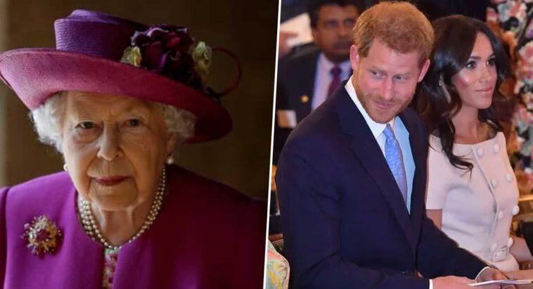 Meghan Markle et Harry sujets tabous, cette requête radicale de la reine à la presse britannique