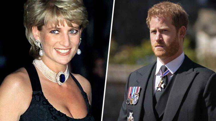 Le prince Harry et la princesse Diana partageait le meme rêve de vivre à Hollywood