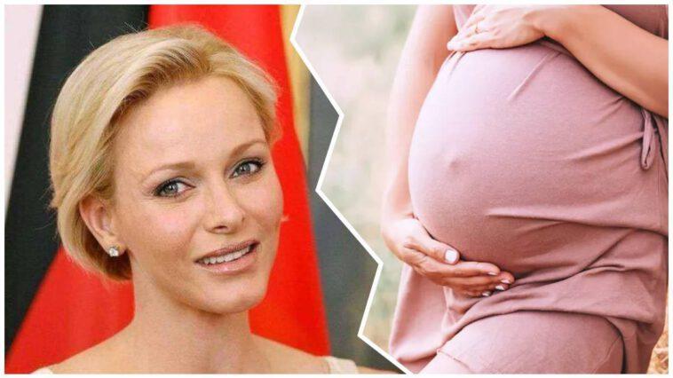 Charlène de Monaco , grossesse inattendue, à l'âge de 43 ans
