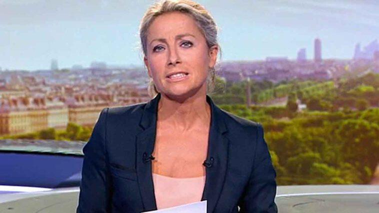 Anne-Sophie Lapix sanctionnée du JT de 20 h...France2 dans l'embarras!