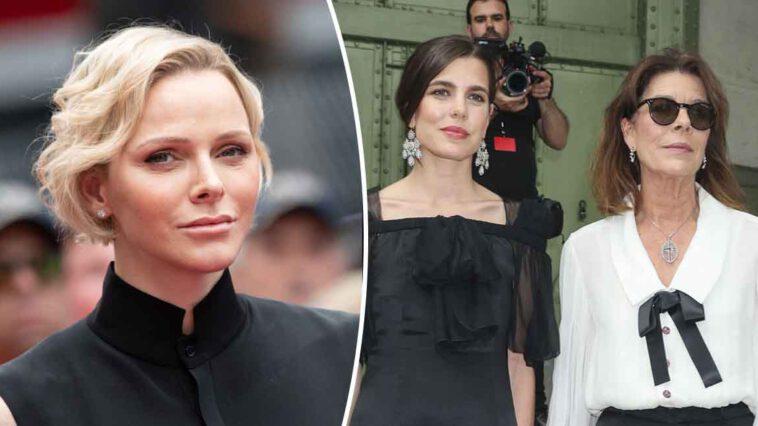 Caroline de Monaco rassurée, Charlène en bonne voie, vacances à Zurs avec Charlotte Casiraghi