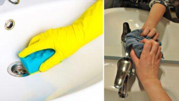 Comment nettoyer le lavabo Découvrez nos astuces simples pour le rendre comme neuf