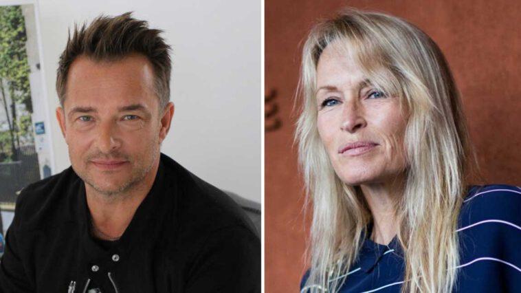 David Hallyday et Estelle Lefébure, retrouvailles ardentes après leur divorce…