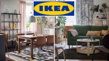 Découvrez comment décorer le salon et la salle à manger avec la nouvelle collection IKEA octobre 2021