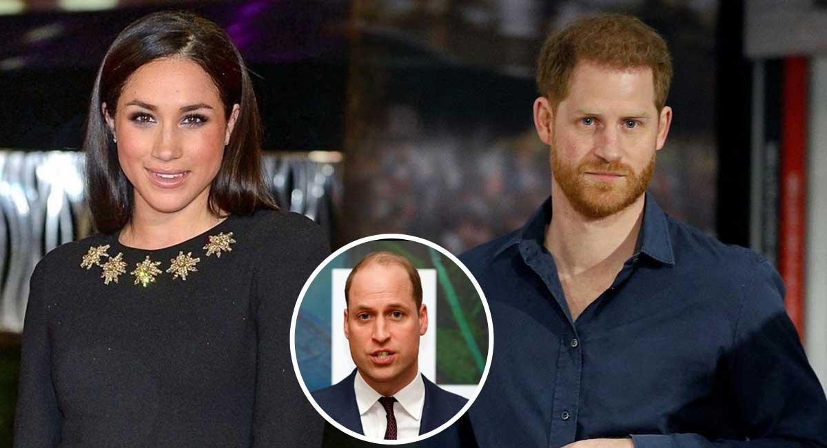 Hypocrite, Meghan Markle embarrasse Harry en pleine guerre avec William