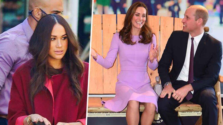 Kate Middleton resplendissante aux côtés de William à l'avant-première de James Bond, révélations sur le dessous de sa baffe à Meghan