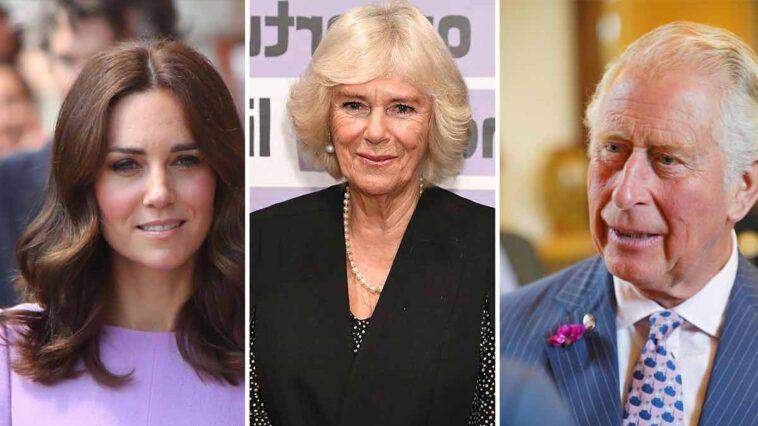 Kate Middleton s'envole vers Charles, brisé, le divorce avec Camilia Parker-Bowles se précise