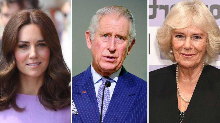 Kate Middleton s'envole vers Charles, effondré, le divorce avec Camilla Parker-Bowles se précise