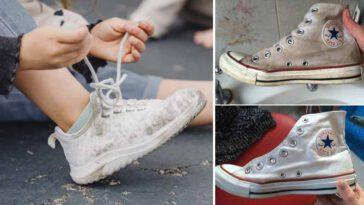 Nettoyer des chaussures blanches Voici 10 idées efficaces avec des produits maison