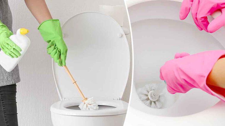 Nos astuces incroyables pour nettoyer le fond des toilettes et éliminer les taches calcaires tenaces…