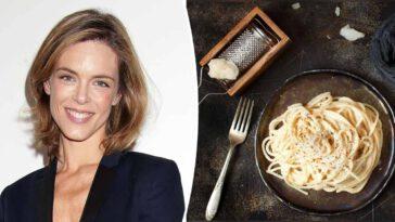 Recette L'astuce de Julie Andrieu pour réussir ses spaghettis à la carbonara