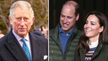 William et Kate Middleton discussions animées avec le prince Charles, il renonce au trône